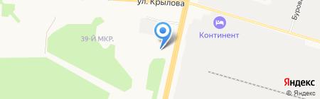 Дымоходов на карте Сургута