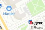 Схема проезда до компании Аванпринт в Сургуте