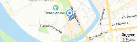 Harat`s на карте Омска