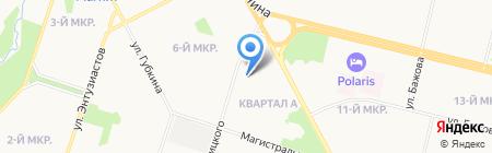 Специализированный отдел судебных приставов по важным исполнительным производствам на карте Сургута