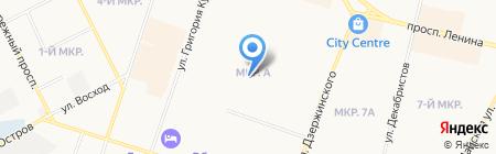 Городская библиотека №3 на карте Сургута