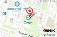 Схема проезда до компании Галерея Современного Искусства «Стерх» в Сургуте