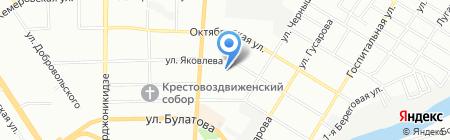 Детский сад №375 на карте Омска