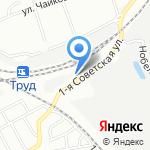 Каретный двор на карте Омска