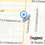 Toyoda на карте Омска