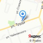 Привет+ на карте Омска
