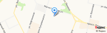 Манго Трэвэл на карте Сургута