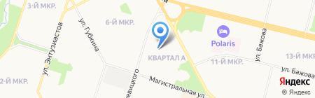 Пункт проката коньков на карте Сургута