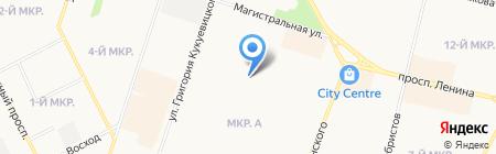 Детский сад №84 на карте Сургута