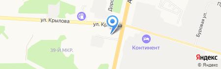 Колесо на карте Сургута