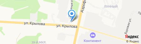 Автогалактика на карте Сургута