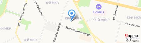 КупиЛьва на карте Сургута