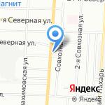 Торгово-производственная фирма на карте Омска