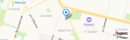 Квартирный вопрос на карте Сургута