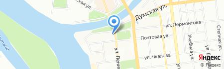 Линдо на карте Омска