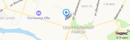 Теремок на карте Сургута