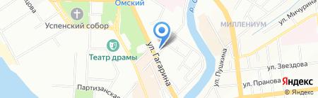 Нафтаресурс на карте Омска