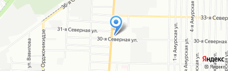 Barbus на карте Омска