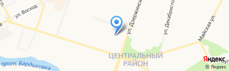 The OFFICE на карте Сургута