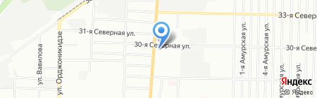 Магма на карте Омска