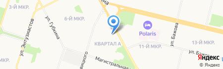 Орхидея на карте Сургута