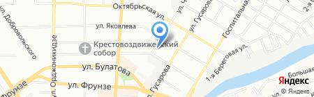 Лазат на карте Омска