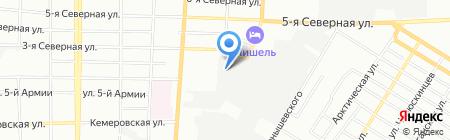 Арт Экострой на карте Омска