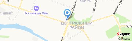 Пеплос на карте Сургута