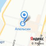 Ягуар на карте Омска
