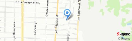 СтройКрепежКомплект на карте Омска