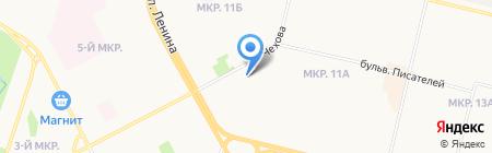 Аптека на карте Сургута