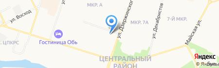 Весёлый пиксель на карте Сургута