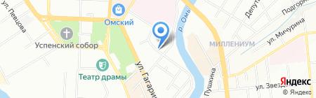 Вита на карте Омска