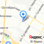 Теремок на карте Омска