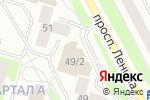 Схема проезда до компании МДМ Банк в Сургуте