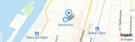 Армос на карте Омска