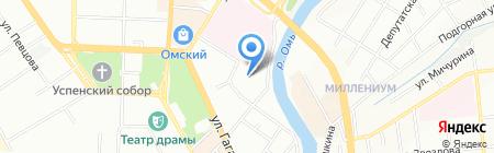 Альянс-М на карте Омска
