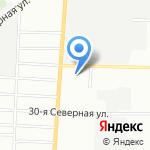 Магазин косметики на карте Омска