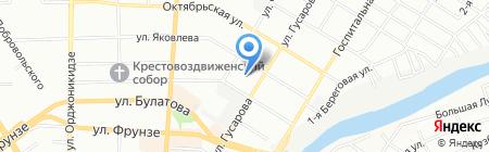 Магазин детских на карте Омска