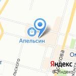Муниципальные рынки на карте Омска