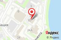 Схема проезда до компании Сканти в Омске