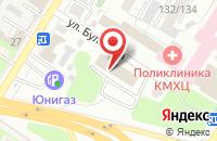 Схема проезда до компании Виват в Омске