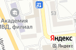 Схема проезда до компании Бутерbrot в Омске
