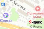 Схема проезда до компании Сибирская благозвонница в Омске