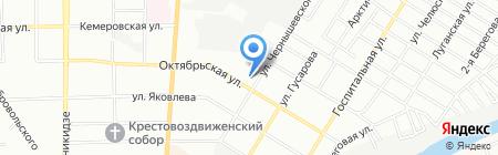 Двери России на карте Омска