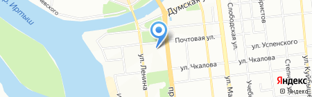 КомфортПластДизайн на карте Омска