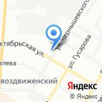 Юнитекс на карте Омска