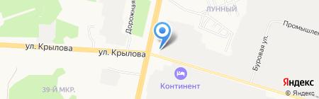 Запсибэлектросетьстрой на карте Сургута