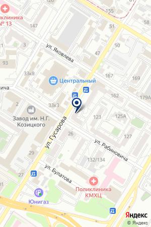 ПРОИЗВОДСТВЕННАЯ ФИРМА ГВЕ на карте Омска