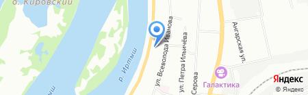 Детская художественная школа №1 им. Саниных на карте Омска